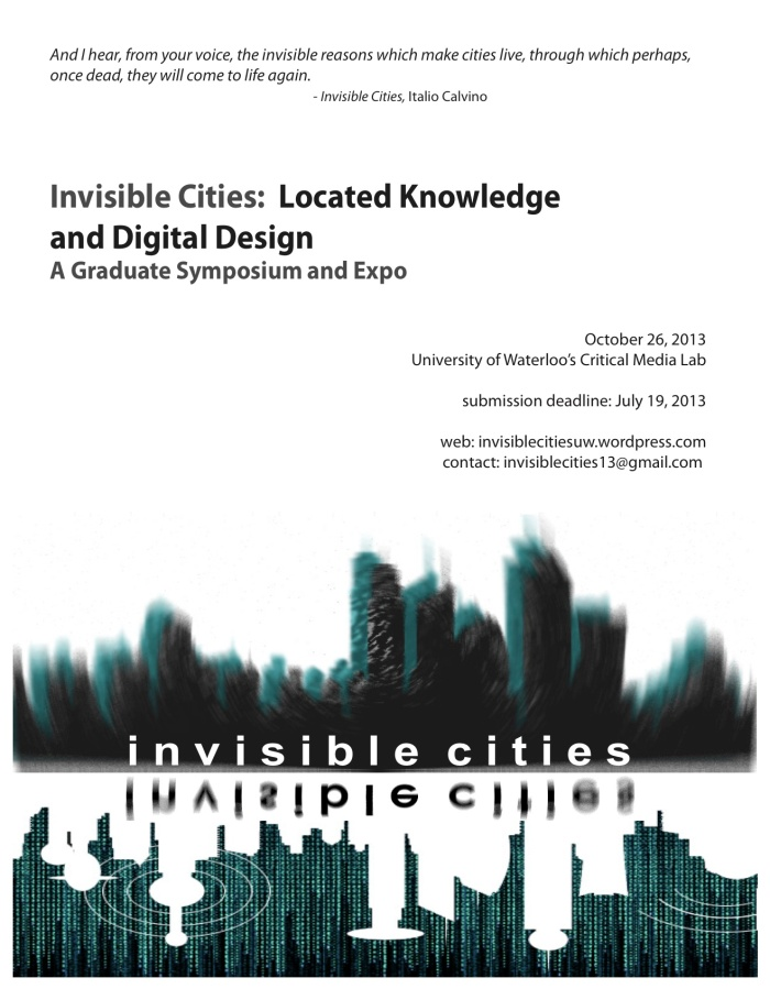 Invisible Cities - Poster Samples